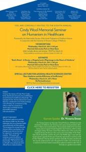 JFSA-Campaign  Cindy Wool Memorial Seminar on Humanism in Medicine @ Marriott Univ Park Hotel at Main Gate | Tucson | Arizona | United States