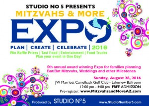 5th Annual Mitzvahs & More Event Planning Expo @ JW Marriott Camelback Golf Club (Lakeview Ballroom) | Scottsdale | Arizona | United States