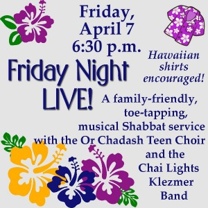 Friday Night LIVE! with Congregation Or Chadash @ Congregation Or Chadash | Tucson | Arizona | United States