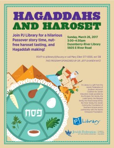PJ Library Story Time - Haggadahs & Haroset @ Dusenberry-River Library | Tucson | Arizona | United States