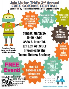 THA's 3rd Annual Free Community STEM Festival @ Tucson Hebrew Academy | Tucson | Arizona | United States