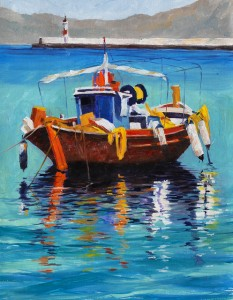 """""""Mediterranean Moments"""" by Chuck Albanese @ Madaras Gallery 