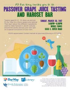 Passover Grape Juice Tasting & Haroset Bar @ Whole Foods | Tucson | Arizona | United States