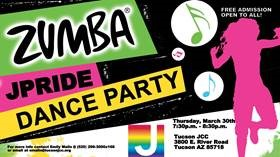 ZUMBA JPride Dance Party @ Tucson JCC | Tucson | Arizona | United States
