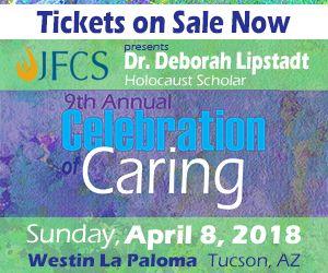 Celebration of Caring-Deborah Lipstadt guest speaker @ La Paloma