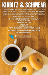 Kibbitz & Schmear @ Northwest Division of the Jewish Federation | Oro Valley | Arizona | United States
