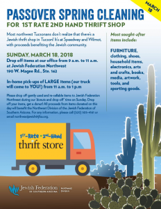Northwest Stuff The Truck with 1st Rate 2nd Hand Thrift Shop @ Northwest Division of the Jewish Federation | Oro Valley | Arizona | United States