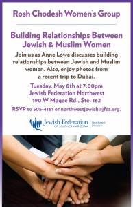 Rosh Chodesh Women's Group @ Northwest Division of the Jewish Federation | Oro Valley | Arizona | United States