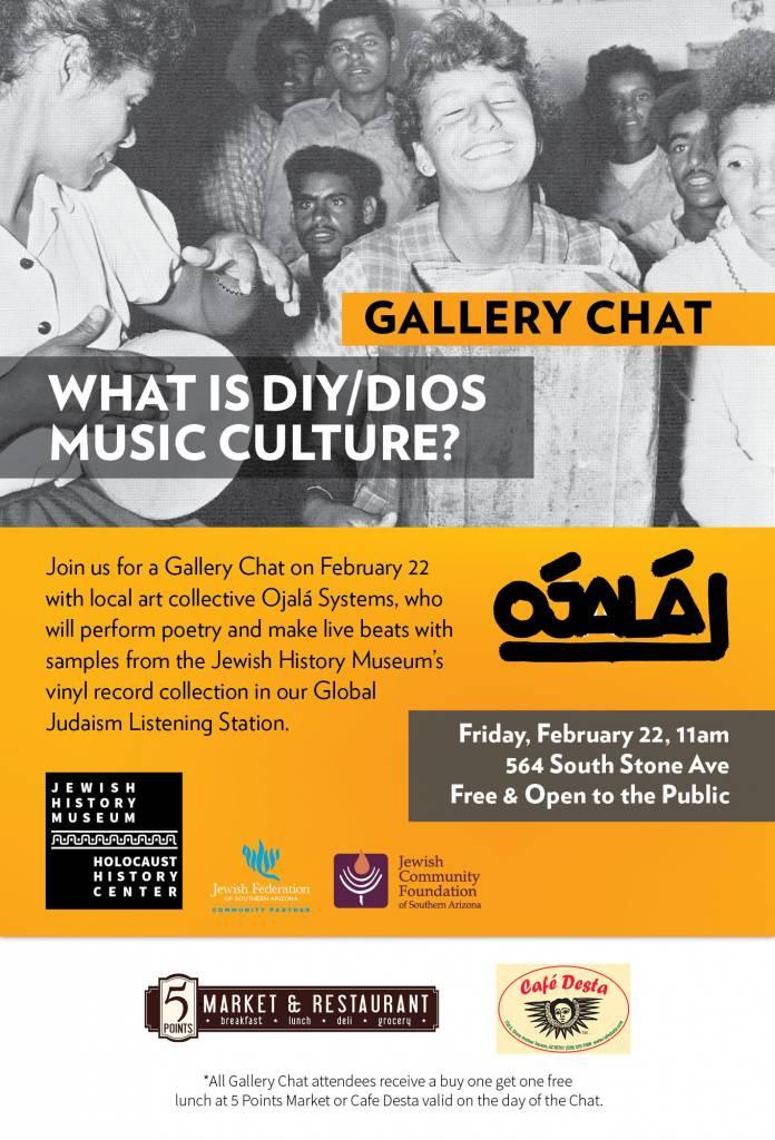 Gallery Chat @ Jewish History Museum | Tucson | Arizona | United States