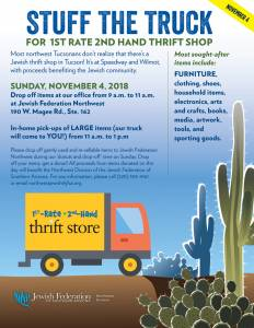 Northwest Stuff the Truck with 1st Rate 2nd Hand Thrift Store @ Northwest Division Office | Oro Valley | Arizona | United States