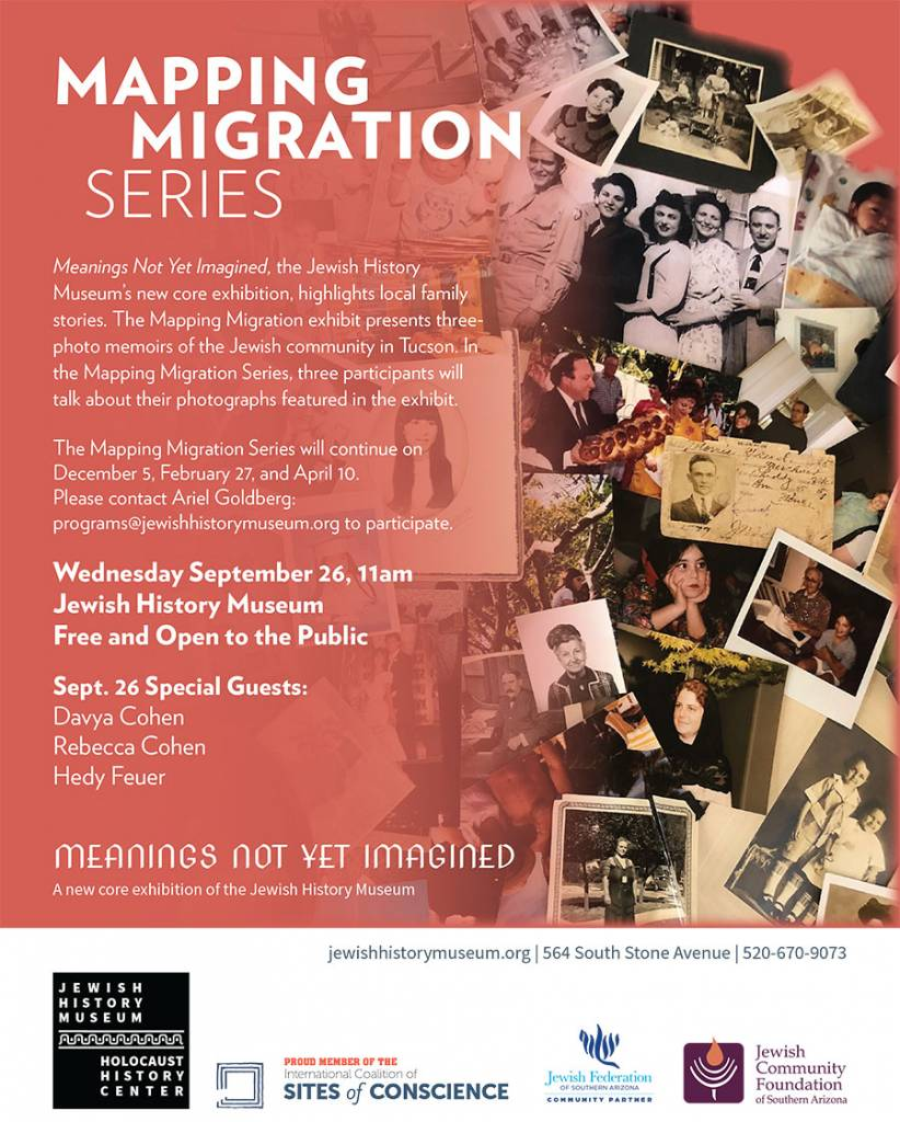 Mapping Migration Series @ Jewish History Museum | Tucson | Arizona | United States