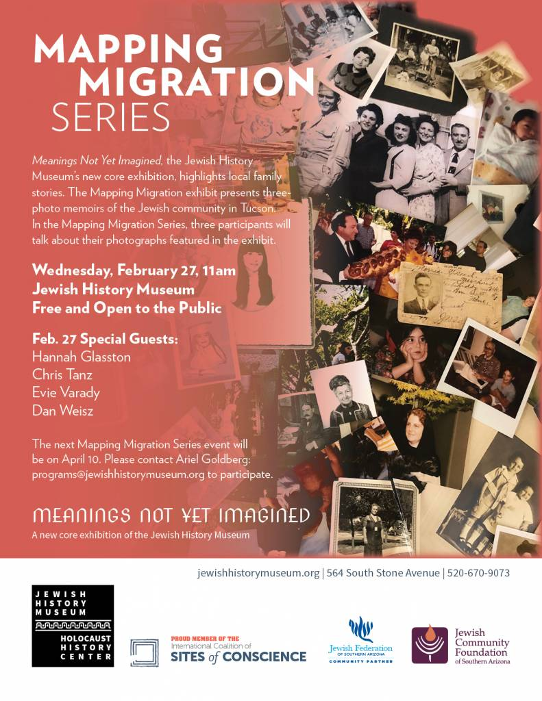Mapping Migration Series @ Jewish History Museum