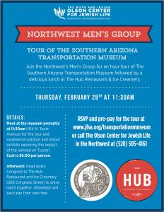Northwest Men's Group Tour & Lunch @ Southern Arizona Transportation Museum