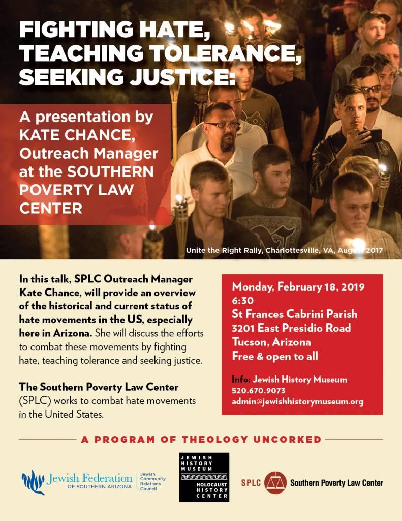 Fighting Hate, Teaching Tolerance, Seeking Justice @ St Frances Cabrini Parish