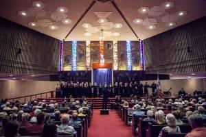 """""""Psalms of David and Songs of Solomon"""" - Arizona Repertory Singers @ Temple Emanu-El"""