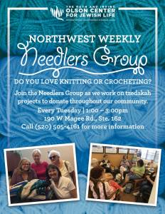Northwest Weekly Needlers Group @ The Ruth & Irving Olson Center for Jewish Life
