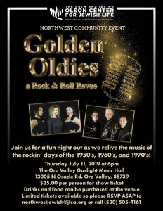 Northwest Community Event: Golden Oldies a Rock & Roll Revue @ The Gaslight Music Hall