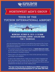 Northwest Men's Group Tour of the Tucson International Airport @ TIA, Catalina Room